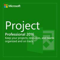 Microsoft Project 2016 Professional MS Pro Original Product Key Full Version