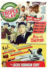 Triple Play - Baseball Triple Feature: Safe at Home, Kill the Umpire, The Jackie