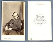 Reverend W Morley Punshon LL.D, President of the Wesleyans Methodist Conference