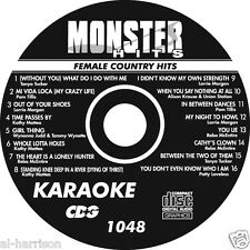 KARAOKE MONSTER HITS CD+G FEMALE COUNTRY  HITS #1048