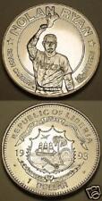 1993 Liberia Large Prflk Nolan Ryan baseball $1