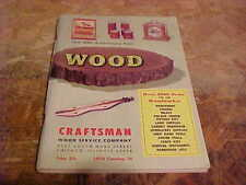 1970 Catalog Wood Crafts Supplies For The Woodworker
