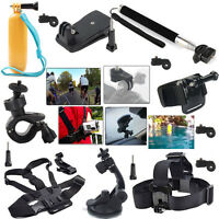 Monopod Kit Accessories Head Chest Strap Mount for Sony/Ion Air Pro Action Cam