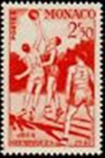 """MONACO STAMP TIMBRE N° 322 """"JEUX OLYMPIQUES LONDRES BASKET-BALL """" NEUF x TB"""