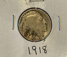 buffalo nickel 1918