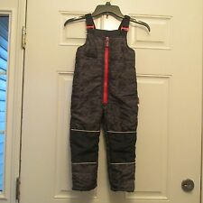 4T Disney CARS Boys SnowPants, Adjustable Straps, Cuffed Leg  $54