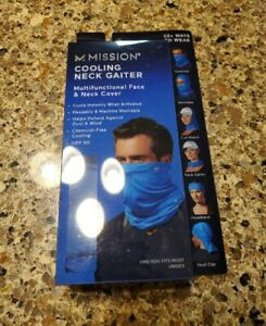 Mission Cooling Neck Gaiter Multifunctional Face & Neck Cover