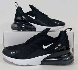 Nike Air Max 270 Black White Running Shoes AH8050-002 Men's Size 8.5