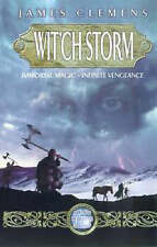 Wit'ch Storm (Banned & the Banished), By James Clemens,in Used but Acceptable co