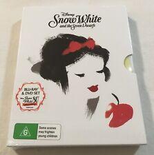 Snow White and the Seven Dwarfs (1937) - 80th Anniversary Slipcase Blu-Ray + DVD