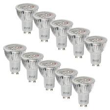 10/8/4x GU10 6W = 50W LED ampoules Downlight Lumière Réflecteur Spot Bulb Lampe