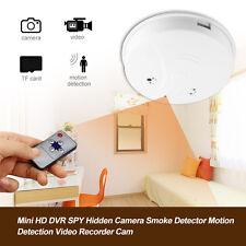 HIDDEN DUMMY SMOKE MOTION DETECTION DETECTOR ALARM COVERT CCTV SPY CAMERA