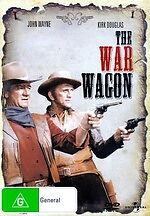 The War Wagon NEW DVD Howard Keel Bruce Dern John Wayne Kirk Douglas REGION 4 AU