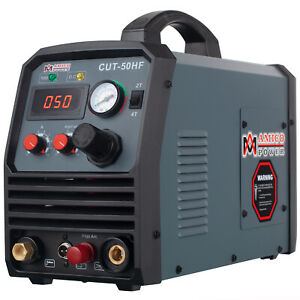 Amico CUT-50HF, 50 Amp Non-touch Pilot Arc Plasma Cutter, Pro. 100~250V Voltage