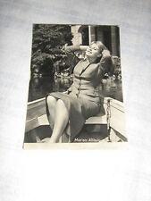 CARTOLINA MARISA ALLASIO,ORIGINALE,foto anni 50