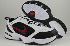 NIKE AIR MONARCH IV 4 EXTRA WIDE 4E EEEE WHITE/BLACK/RED CROSS TRAINER MEN SIZES
