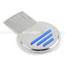 Stainless Steel Metal Hair Comb Lice & Nit Lice Eggs Removal Pet Lice Treatment