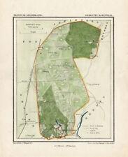 ANTIQUE MAP-NETHERLANDS-ROZENDAAL-GELDERLAND-KUYPER-1865