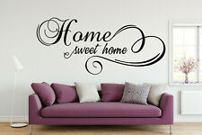 Home Sweet Home Vinyl Wall Art Kitchen Quote Phrase Custom Decal Sticker 023
