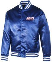 New Era New York Giants NFL F O R  Sateen Bomber College Jacket Jacke Royal New