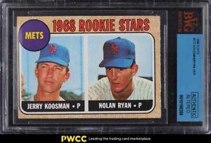 1968 Topps Nolan Ryan ROOKIE RC #177 BGS ALTERED