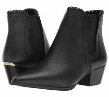 MICHAEL Michael Kors Broderick Booties Women's Ankle Boots Winter Premium Black