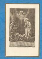 IMAGE PIEUSE HOLY CARD  JESUS SAINT JEAN BAPTISTE JESUS MARIE