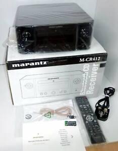Marantz Melody M-CR412 Bluetooth CD Receiver with DAB - Black