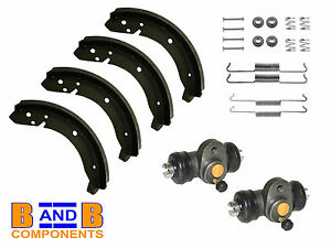 VW T1 BEETLE BUG FRONT BRAKE SHOES WHEEL CYLINDERS FITTING KIT 1969-1985 A537