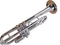 Tromba Trompet TP1-SL Plastic BB Silver