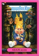 """Garbage Pail Kids Flashback Series 3 Pink Adam Mania Chase Card #8 """"Fire"""""""
