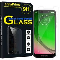 """Lot/ Pack Film Verre Trempé Protecteur Écran pour Motorola Moto G7 Play 5.7"""""""