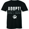 Adopt Don't Shop T-Shirt Rescue Animals Shirt Cat and Dog Tee
