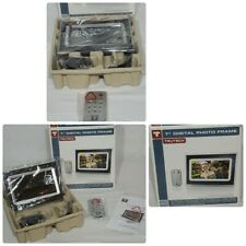 "Trutech 7"" Digital Photo Frame With Remote Black & White Insert Frames NOB"