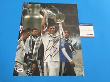 Gareth Bale Real Madrid World Cup Signed Auto 11x14 PSA/DNA COA