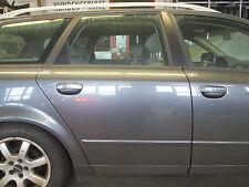 Tür hinten rechts AUDI A4 B6 8E Avant delphingrau LX7Z grau