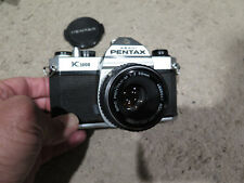 Pentax K1000 SLR 35mm Manual Film Camera Ex Cond Fully Working