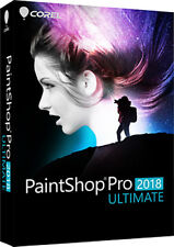 NEW Corel Paintshop Pro Ultimate 2018 Photo Editing PC