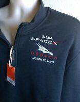 "LARGE SPACE X NASA JACKET ""CREW DRAGON-MISSION TO MARS                    .shirt"