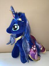 Build A Bear My Little Pony Princess Luna Plush *With Tiara And Cape!