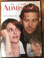 Tina Fey Paul Rudd ADMISSION ~ 2013 American Indie Comedy   UK DVD