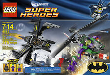 Lego DC Universe Batwing Battle Over Gotham City Retired Set 6863 New In Box