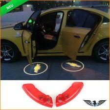 Tür Beleuchtung 2010 ~ 2014 Chevrolet Captiva Logo Shadow Licht Projektor