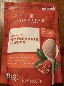 Navitas Organics Organic Pomegranate Powder 8 oz Pkg Exp 02/2022