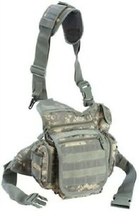 Every Day Carry Tactical Bag EDC Day Pack [Digital Camo] Backpack w/ Molle Loops