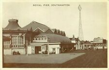 PC SOUTHAMPTON ROYAL PIER HAMPSHIRE POSTED 1952