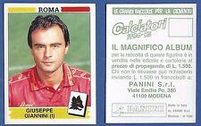 FIGURINA CALCIATORI PANINI 1994/95 - NUOVA/NEW N.318 GIANNINI - ROMA