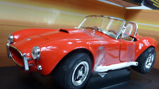 ERTL 1:18 Shelby Cobra 1966 1/4 Mile 12,20 Sec. 118MPH red in OVP (A702)