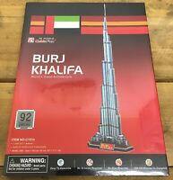 CubicFun C151h 3D Puzzle : Burj Khalifa World's Greatest Architecture NEW SEALED