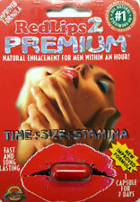 Red Lips 2 Premium Pill - Fast Acting Male Sexual Performance Enhancer Pill